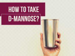 d-mannose dose