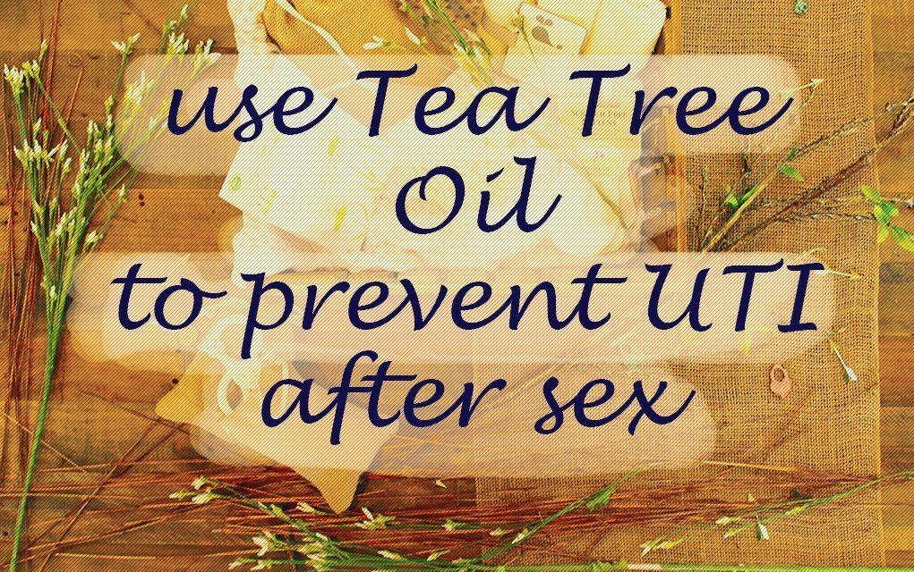 UTI tea tree oil