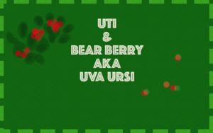 UTI and Uva Ursi