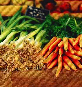 Veggies are a great source of prebiotics